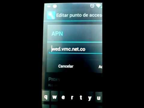 el APN de virgin mobile en colombia paso por paso 2015