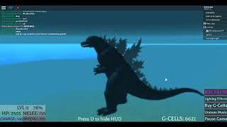 Roblox Kaiju online (Godzilla Final wars vs Shin Form 3)
