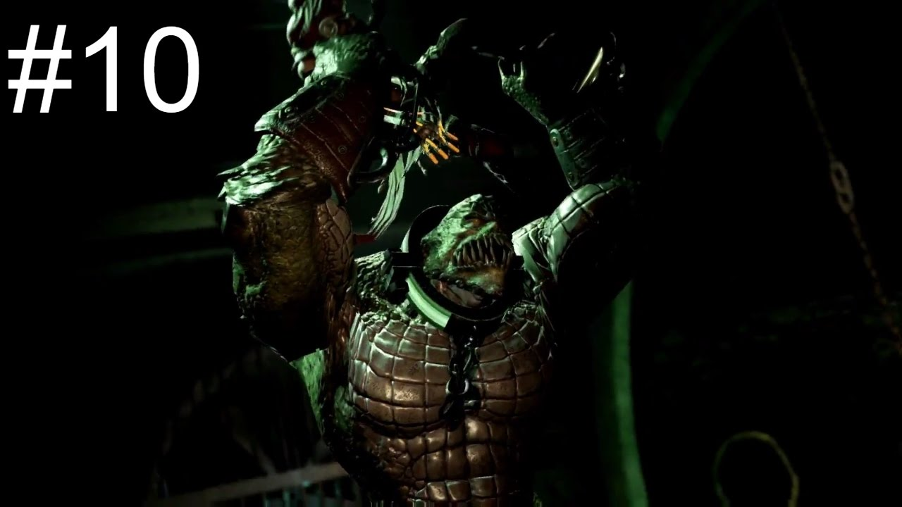Download Batman: Return to Arkham Asylum Walkthrough - Part 10 - Killer Croc's Lair