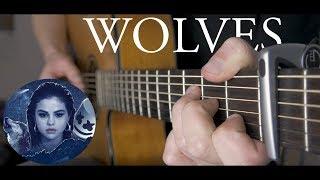 Wolves - Selena Gomez & Marshmello - Fingerstyle Guitar Cover