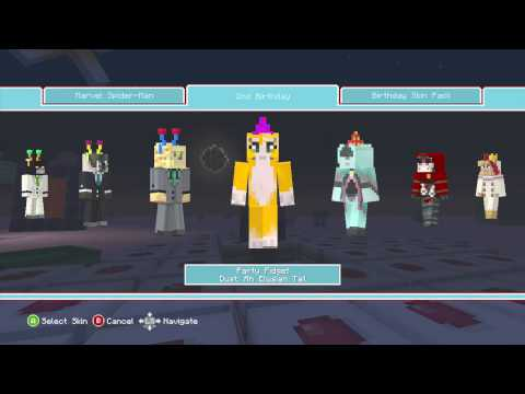 Minecraft Birthday Skin Pack 1 And 2 Reviews