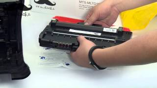 How to install Samsung MLT D109S toner cartridge for Samsung SCX 4300 Printer - By 123ink.ca