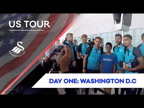 Swans TV - 🇺🇸 US TOUR 🇺🇸 Day One: Travelling to D.C