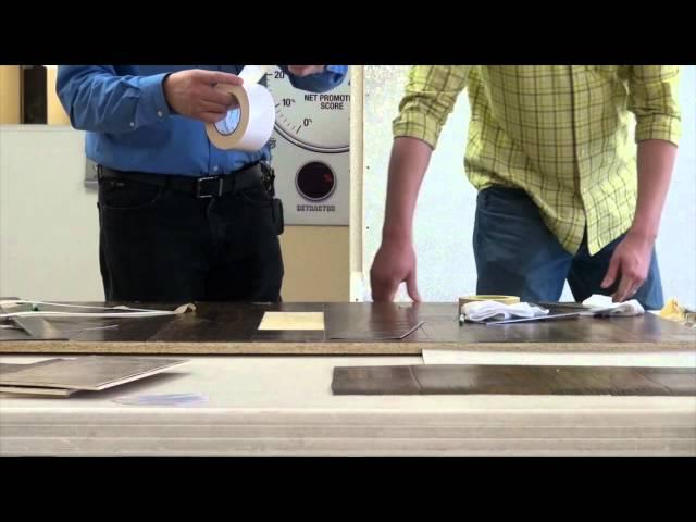 Linoleum Board Replacement