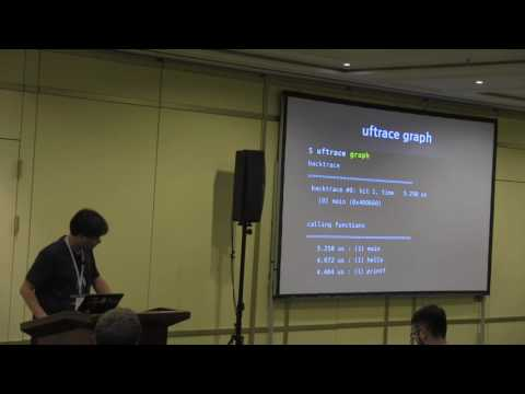 uftrace - Function (Graph) Tracer for Userspace, Namhyung Kim (LG Electronics)