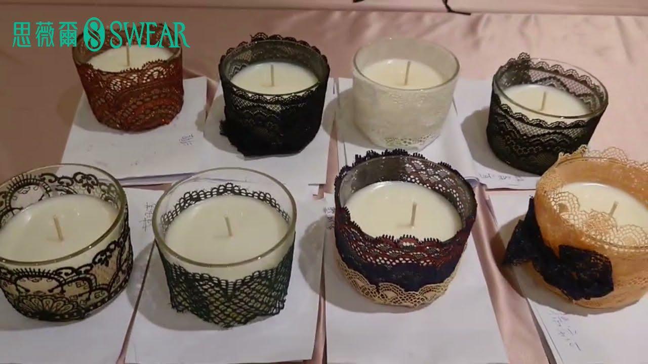 ✨SWEAR台中新光蠟燭蕾絲手作活動
