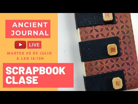 Scrapbooking  Ancient Journal | Scrapbooking técnicas