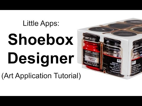 Little Apps: Shoebox Designer (Art Application Tutorial) by Huntsbrook, Inc.