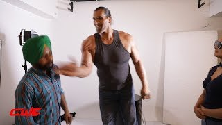 CWE | This guy interrupt Khali and he Slapped him