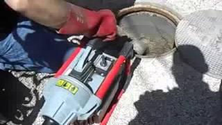 видео аварийное устранение засоров
