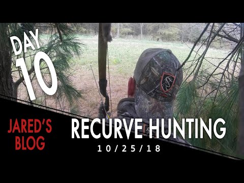 Jared Day 10: Hunting with a Recurve