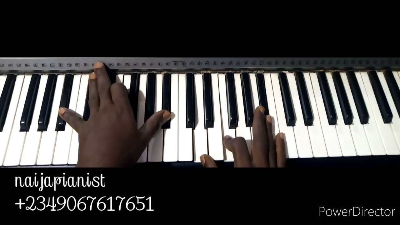 Download Tutorial On How To Play Runs/Sus Technique - piano lesson exercises chord