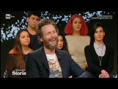 Corrado Augias incontra Jovanotti (1^ parte) - Quante storie 19/12/2017