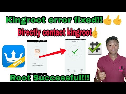 How to fix kingroot root failed | How to root any Android device |kingroot help