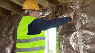 Fixing HCONTROL HYBRID aroud a roof window