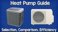 Heat Pump Guide, how to select, compare and efficiency rating hvac
