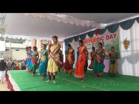 Performance on v6 batukamma song