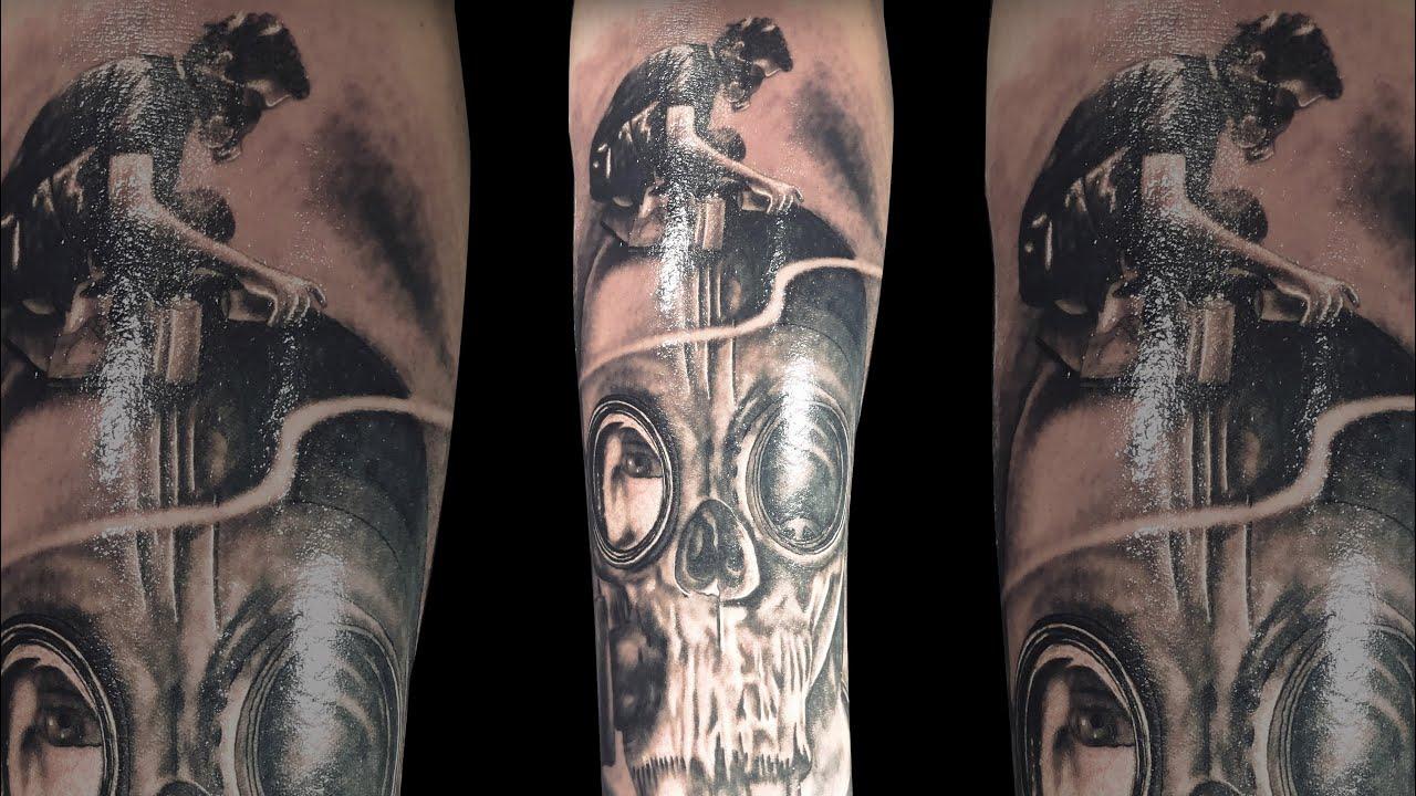Tattoo Link Park Meteora Criacao Leo Caberna Tattoo Youtube