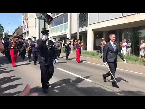 MG Walchwil - Zuger Musikfestival Hünenberg - Basler Marsch