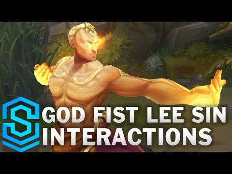 God Fist Lee Sin Special Interactions