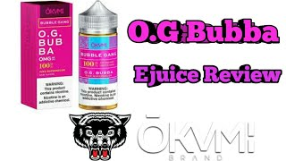 O.G Bubba by Okami | Pink Watermelon Bubble Gum Ejuice