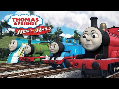 #8 Thomas and Friends Hero of the Rails - video game - kids movie - Gameplay