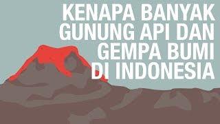 Download Video Kenapa Banyak Gunung Api dan Gempa Bumi di Indonesia? #SebarIlmuProject MP3 3GP MP4