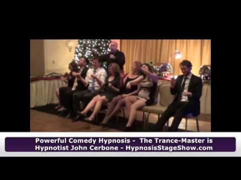 Trance-Master Corporate Comedy Hypnosis Show Highlights - Holiday Party Show 12-15