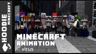 마인크래프트 애니메이션 [바이러스::8화 - 이별(1)] - Minecraft Animation [Virus::8 - Parting(1)]