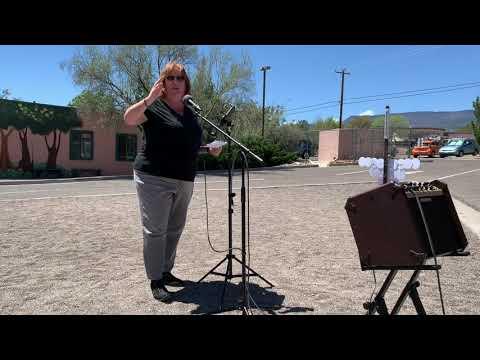 Cottonwood AZ Earth Day Rally 2019 - Kathy Kinsella Remarks