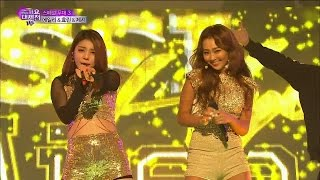 Repeat youtube video 【TVPP】Hyorin(SISTAR) - Bang Bang (with Ailee, Jessie), 효린(씨스타) - Bang Bang @ 2014 KMF Live