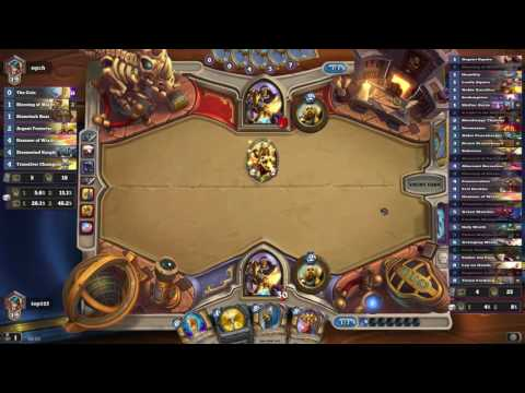 Hearthstone Ranked Plays - Down the ladder  feat. Tobu
