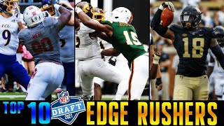 Top 10 Edge Rushers In The 2021 NFL Draft