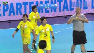 France VS Japon Handball féminin TQO