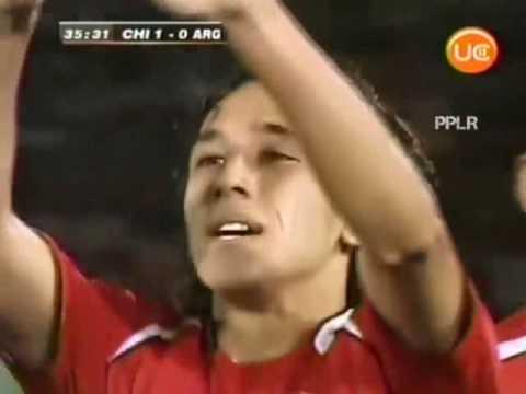 Gol de Orellana a Argentina (Mejor Calidad)