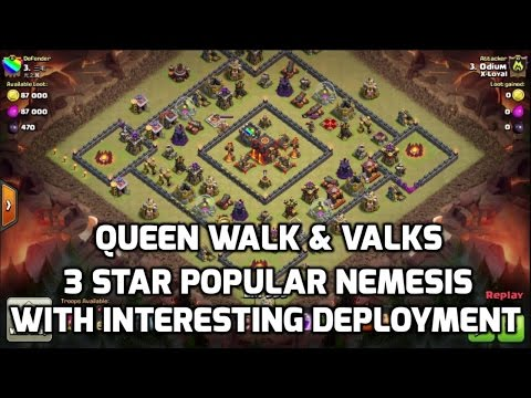The Nemesis of The Nemesis Base, Valks with Interesting Deployment | Mister Clash Gaming