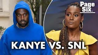 Kanye West: 'SNL' used Issa Rae 'to hold other black people back' | Page Six Celebrity News