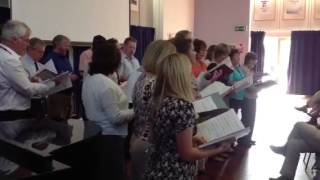 The Mountbatten School Staff Choir - Les Mis Flash Mob