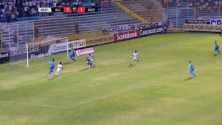 Alianza FC y Motagua terminaron empatados 1-1 en la semifinal de ida