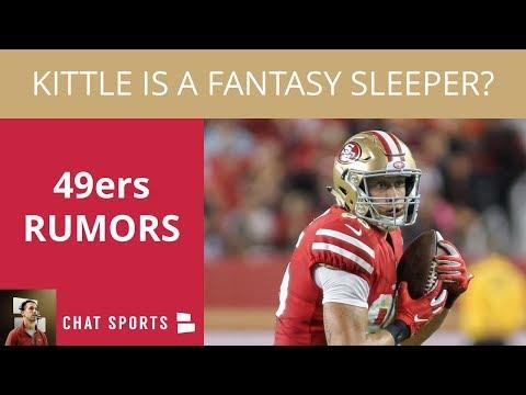 49ers Rumors: Texans Recap, Jerick McKinnon's Health, & George Kittle's Fantasy Football Stock
