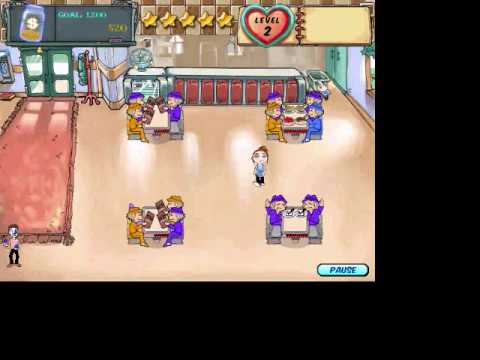 KGM Diner Dash Series(Part 1) Endless Shift Easy Levels 1, 2, And 3