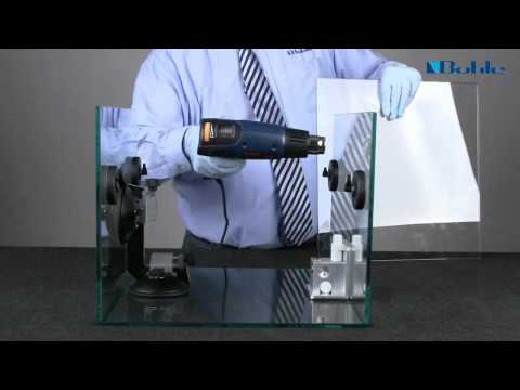 Big Frank: How to bond glass simply and safely