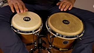 MEINL Percussion Latin Styles on Bongos - WB500ZFA-M