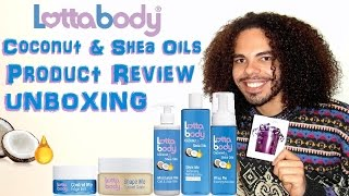 Lottabody Coconut & Shea Oils Product Review Setting Lotion Shape Me Custard Gelée & Controle Me