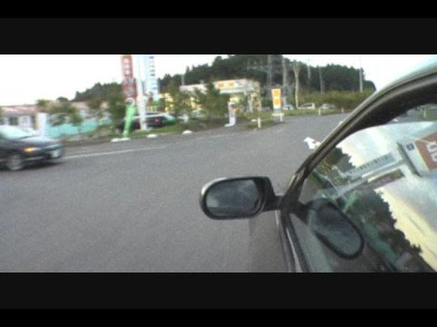 Nissan R33 Skyline Driving around Japan Aomori Prefecture Misawa Air Base