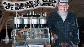 Casting the Wright Brothers Model B Crankcase- a slightly cleaner video