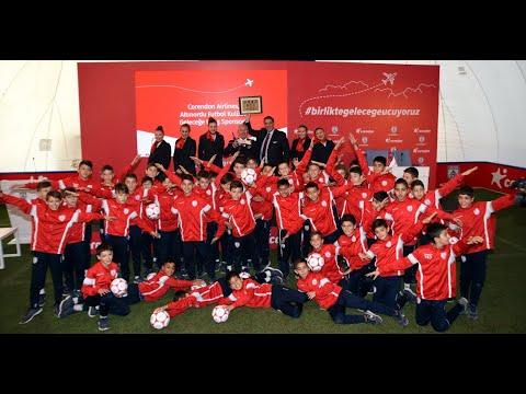 Corendon Airlines - Altnordu Futbol Kulübü Gelecee Uçu Sponsoru