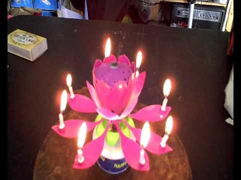 Musical Birthday Sparkling Fountain