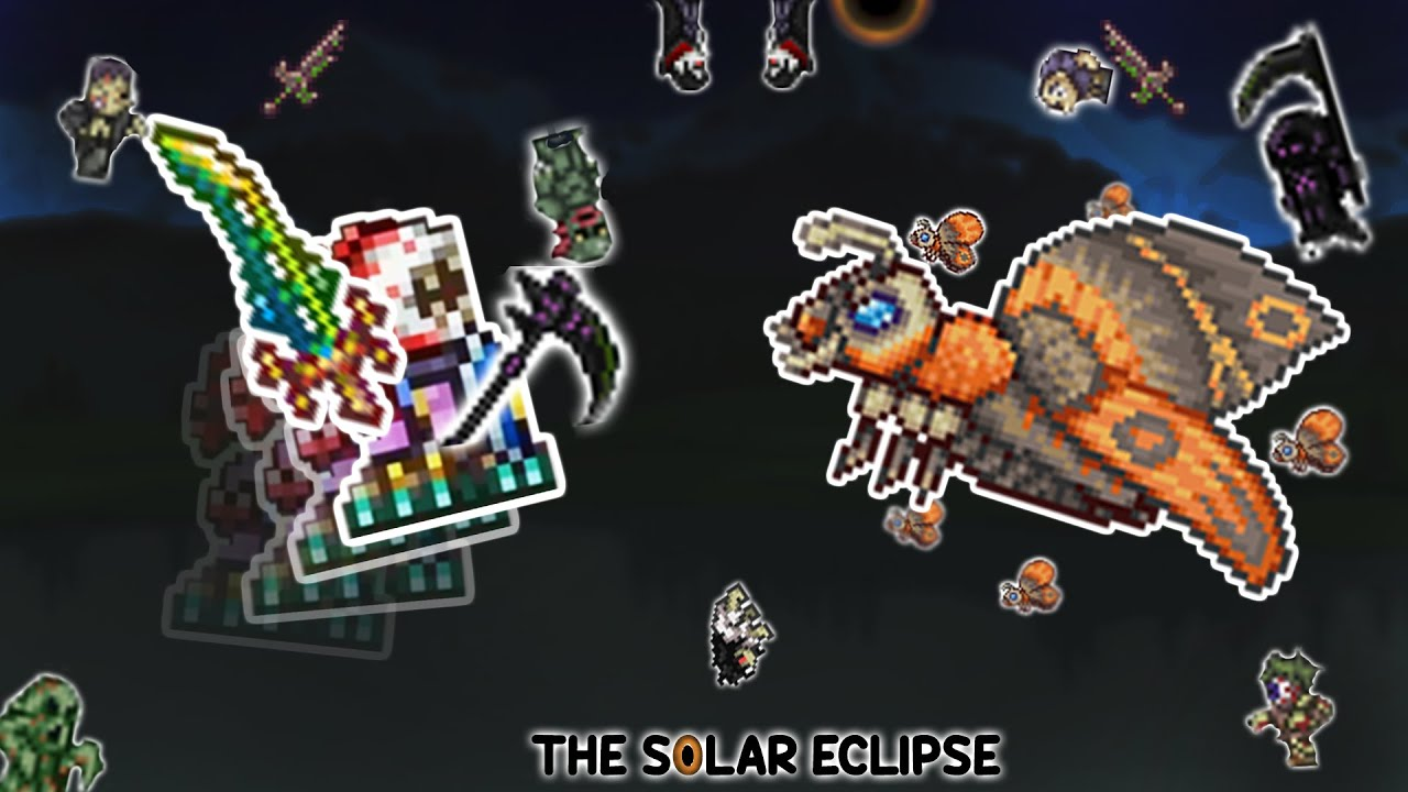 Solar Eclipse Guide Mothron Guide Terraria 1 4 Youtube What if the solar eclipse had a true boss, in the form of a true version of mothron? solar eclipse guide mothron guide