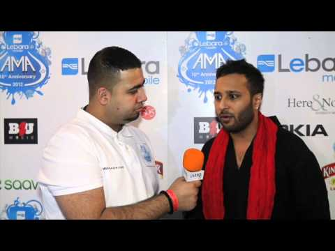 Ash King UK AMA 2012 Media room interview by Jamm Media